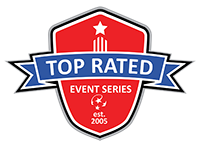 Top Rated Event Series, Ontario Soccer Tournaments Logo